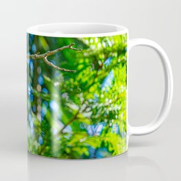 Squirrel Monkey Lounging In Jungle Trees Coffee Mug