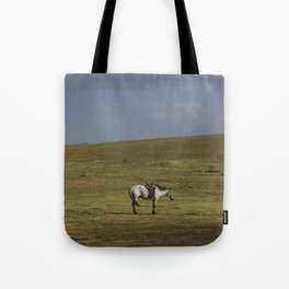 A Nomads Horse Tote Bag