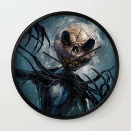 Jack Skellington Wall Clock
