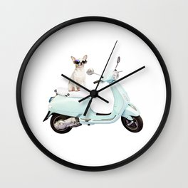 Ciao Chihuahua Wall Clock
