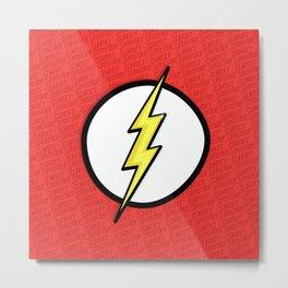 Scarlet Speedster Metal Print
