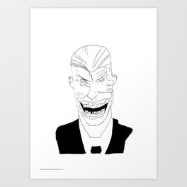 Endgame Joker Art Print