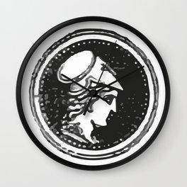 Athena Minerva Wall Clock