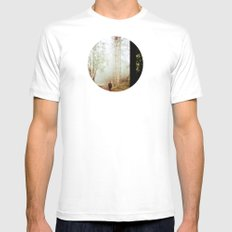 Forest  Lomography White MEDIUM Mens Fitted Tee
