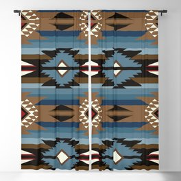 American Native Pattern No. 327 Blackout Curtain