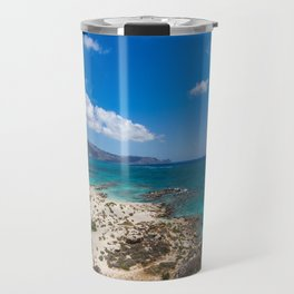 Elafonisi Island Beach - Crete, Greece Travel Mug