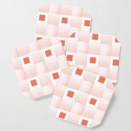 Rachel's Wavy Coral Pattern Coaster