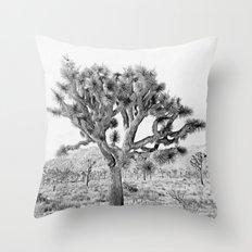 Joshua Tree Giant by CREYES Throw Pillow