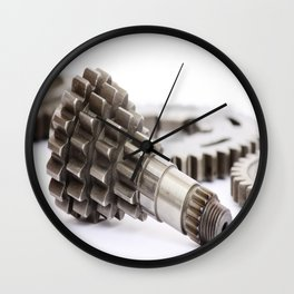 Pinion gear Wall Clock
