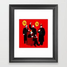 Communist Party II: The Communing Framed Art Print