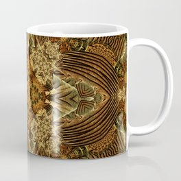 Heart of the Earth Mandala Coffee Mug