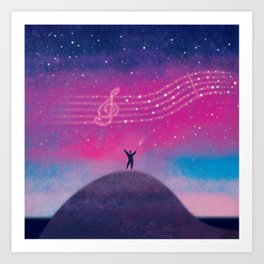 Maestro of Stars Art Print