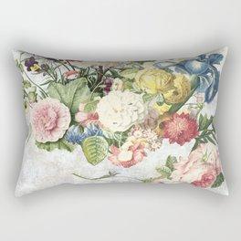 A Flowering Flourish, spring, burgeon, burst! Rectangular Pillow