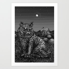 Felix, Bringer of Gifts Art Print