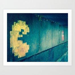 Pac Walk Art Print