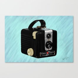 Brownie Camera Canvas Print