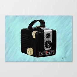 Brownie Camera Canvas Print