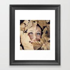 Welcome autumn Framed Art Print