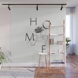 H O M E Wall Mural
