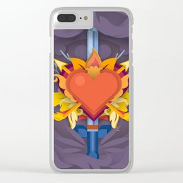 Love me tender Clear iPhone Case