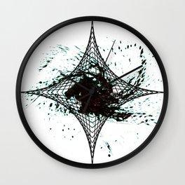 Star Cloud Wall Clock