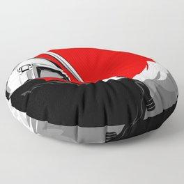 Space Samurai Floor Pillow
