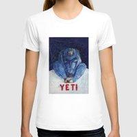yeti T-shirts featuring Yeti by ----
