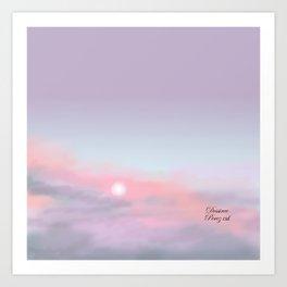 Heavenly sky Art Print
