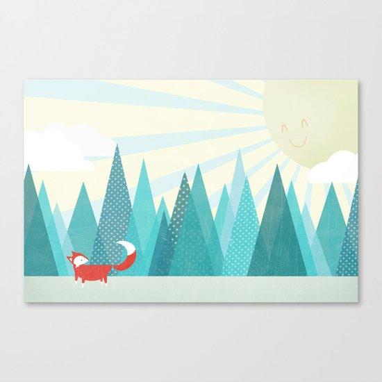 Winter's Over Canvas Print