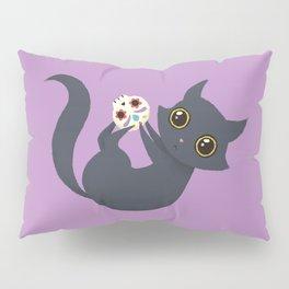 Kitty sugar skull Pillow Sham