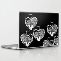valentines Laptop & iPad Skins featuring Valentines Day by Bazarovart