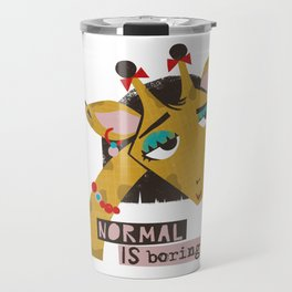 Stylish giraffe Travel Mug