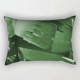 Banana Tree Leaves Rectangular Pillow