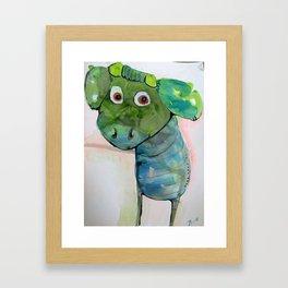 Kalv Framed Art Print