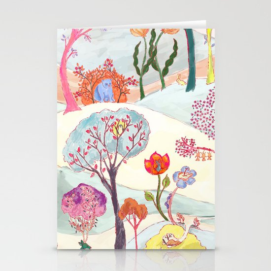 Garden Party - Print Stationery Cards