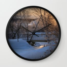 Channel View Wall Clock