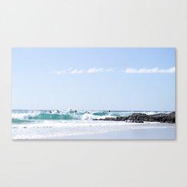 A Day at the Beach 3 Canvas Print
