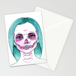 X-Ray Girl Stationery Cards