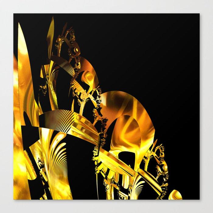 Abstract futuristic instrument Canvas Print