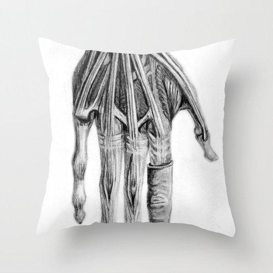 Hand Throw Pillow