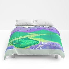 Mountain Murmurs Comforters