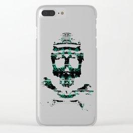 Bitter Poison Skulls Clear iPhone Case