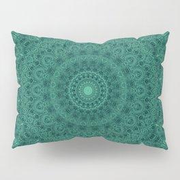 Kaleidoscope . The malachite. Pillow Sham
