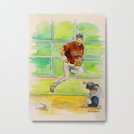 Craig Biggio_Houston HOF Metal Print