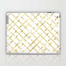 golden line Laptop & iPad Skin