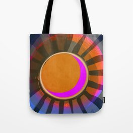 Full Moon Rays Tote Bag