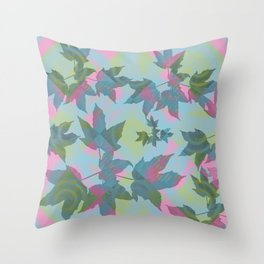 Leaves 03 Throw Pillow