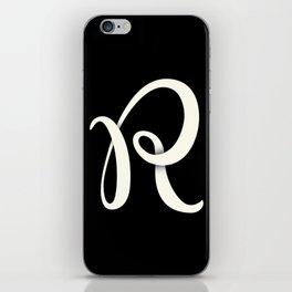Alphabet Drop Caps Series- R iPhone Skin