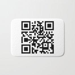 QR Code Bath Mat