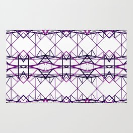 purple iron II Rug